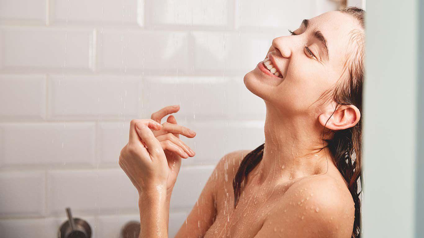 Für das optimale Dusch-Erlebnis sind sieben bis zehn Minuten ausreichend