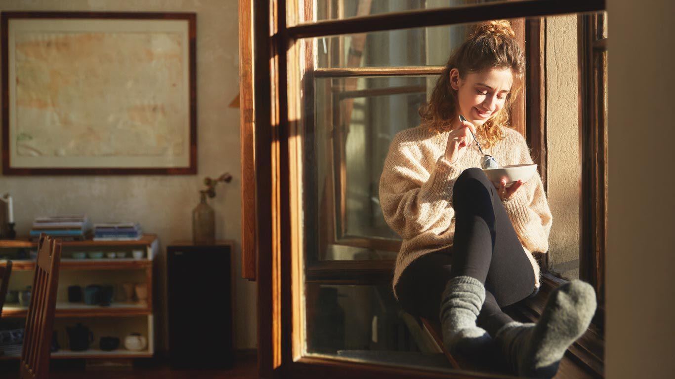 Frische Luft, gesunde Ernährung gehören zum Leben in Balance