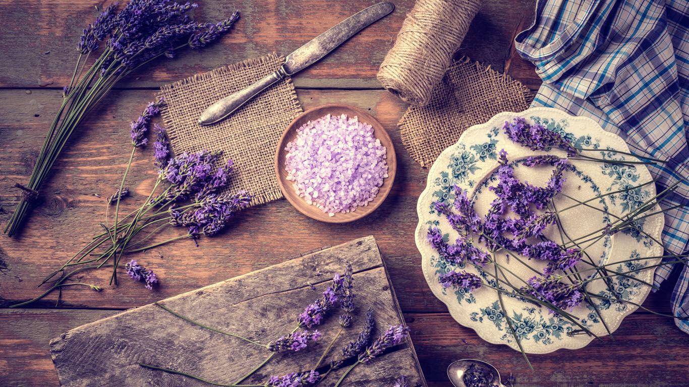 Kneipp Pflanzen Lexikon Lavendel Beruhigung Nerven