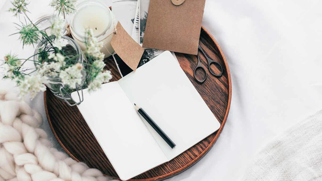 Journaling hilft dein Stresslevel zu senken