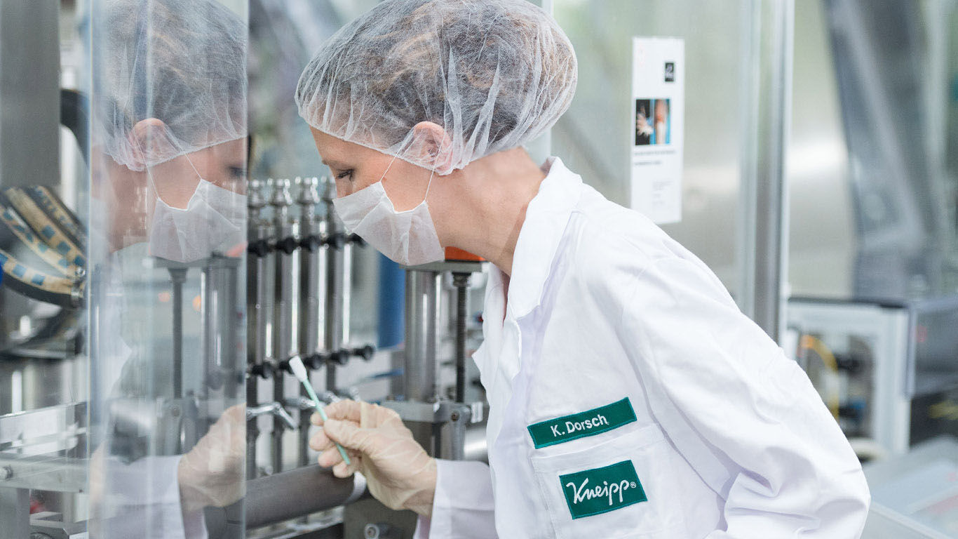 Qualitätsmanagement bei Kneipp
