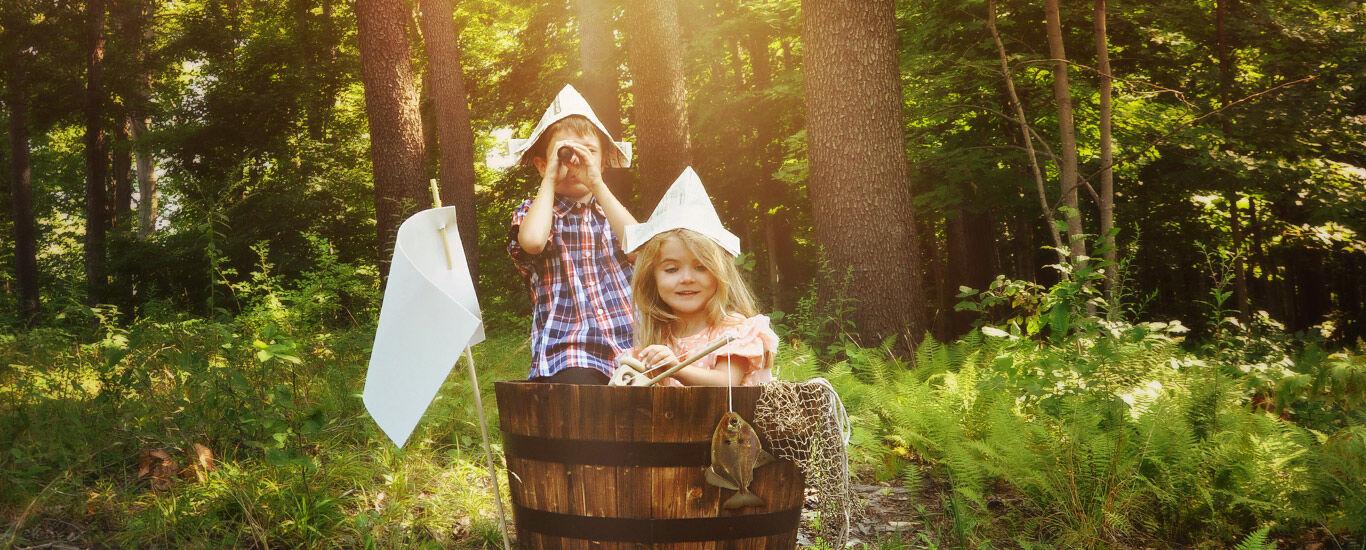 Waldspiele Ideen