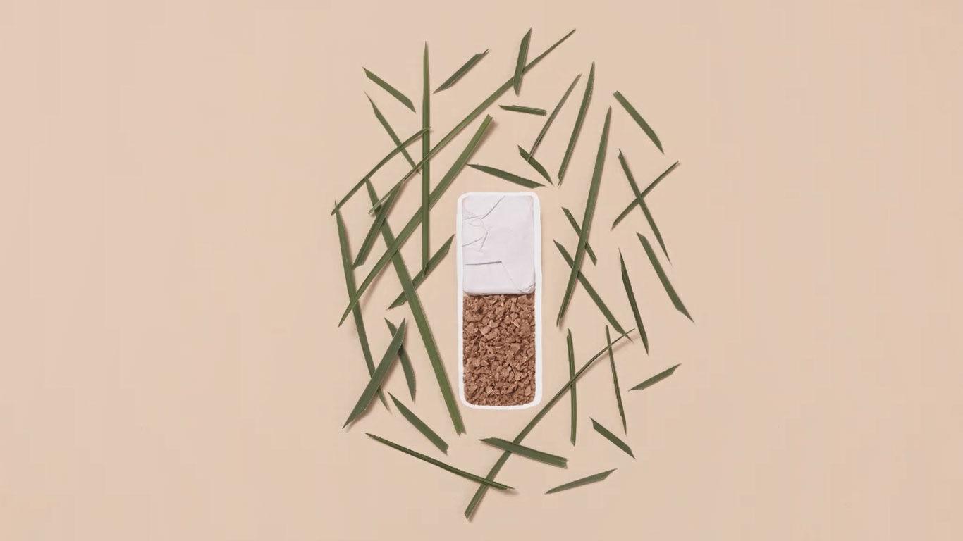 Nachhaltig verpackt: mit Paper Blend, Graskarton und Kork