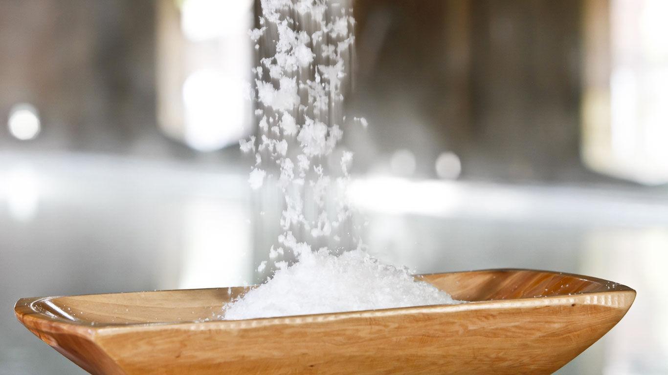 Tief unter der Erde ist das Luisenhaller Salz geschützt vor Umwelteinflüssen