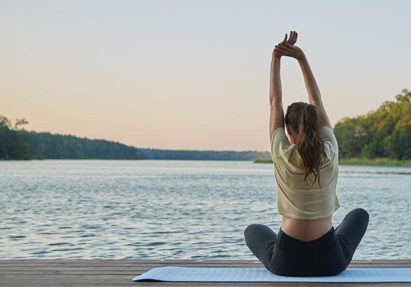 Düfte bei der Meditation