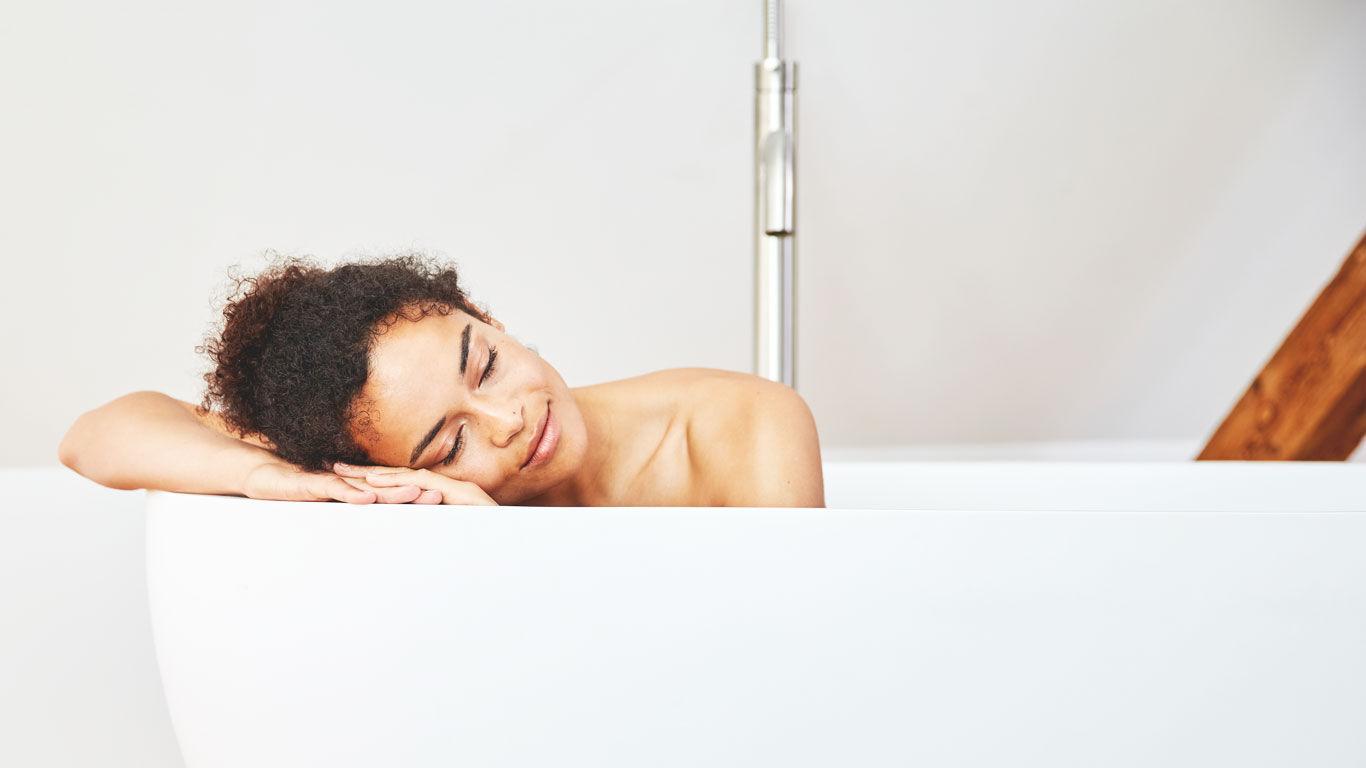 Der Reset-Knopf für Körper und Geist: ein wohltuendes Bad