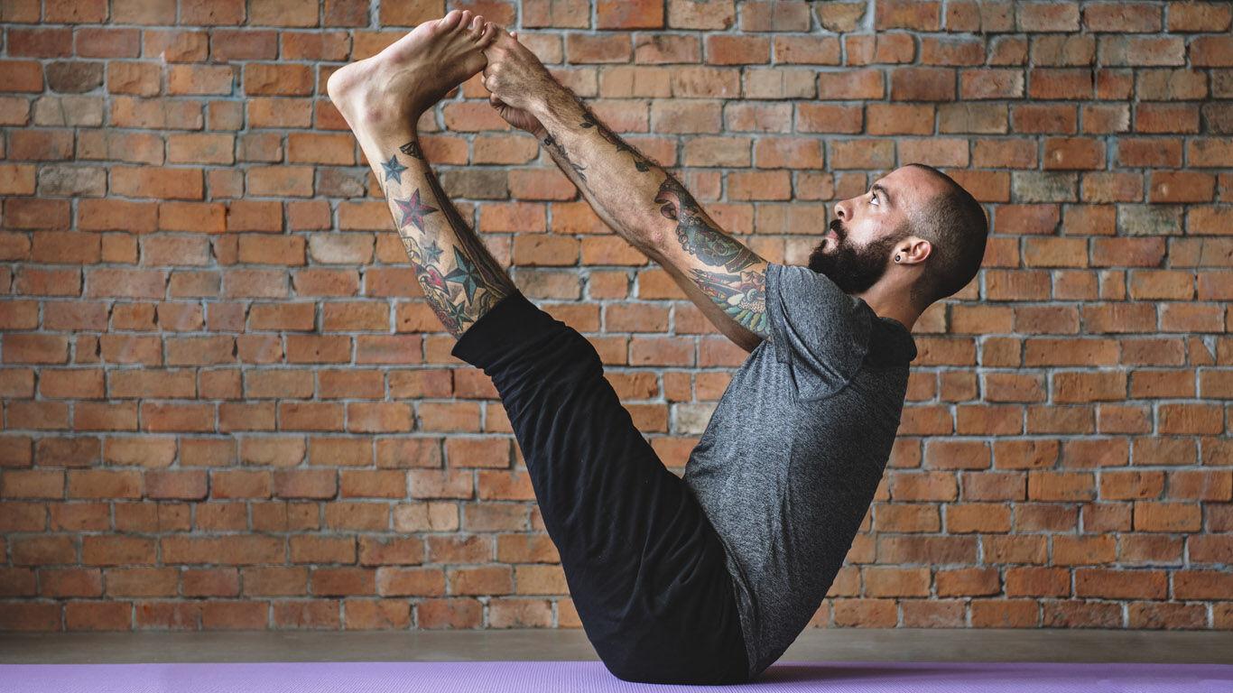 Yoga für den Mann: schult die Balance