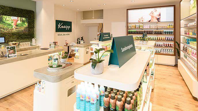 Kneipp Shop Würzburg Innenansicht