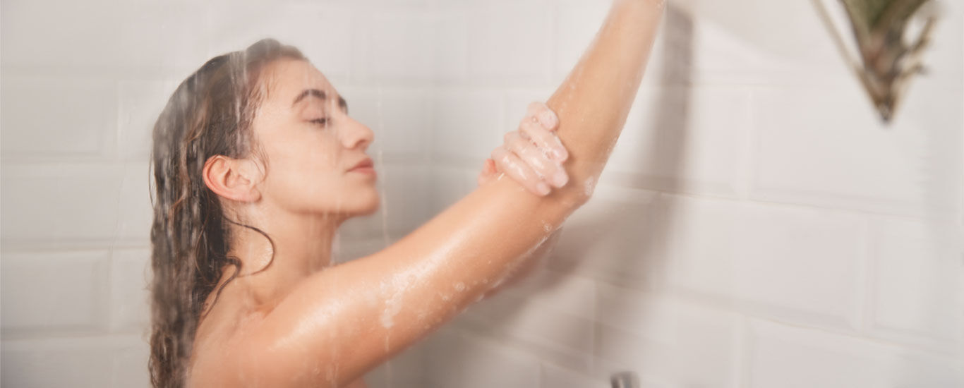 Sollte man erkältet duschen?