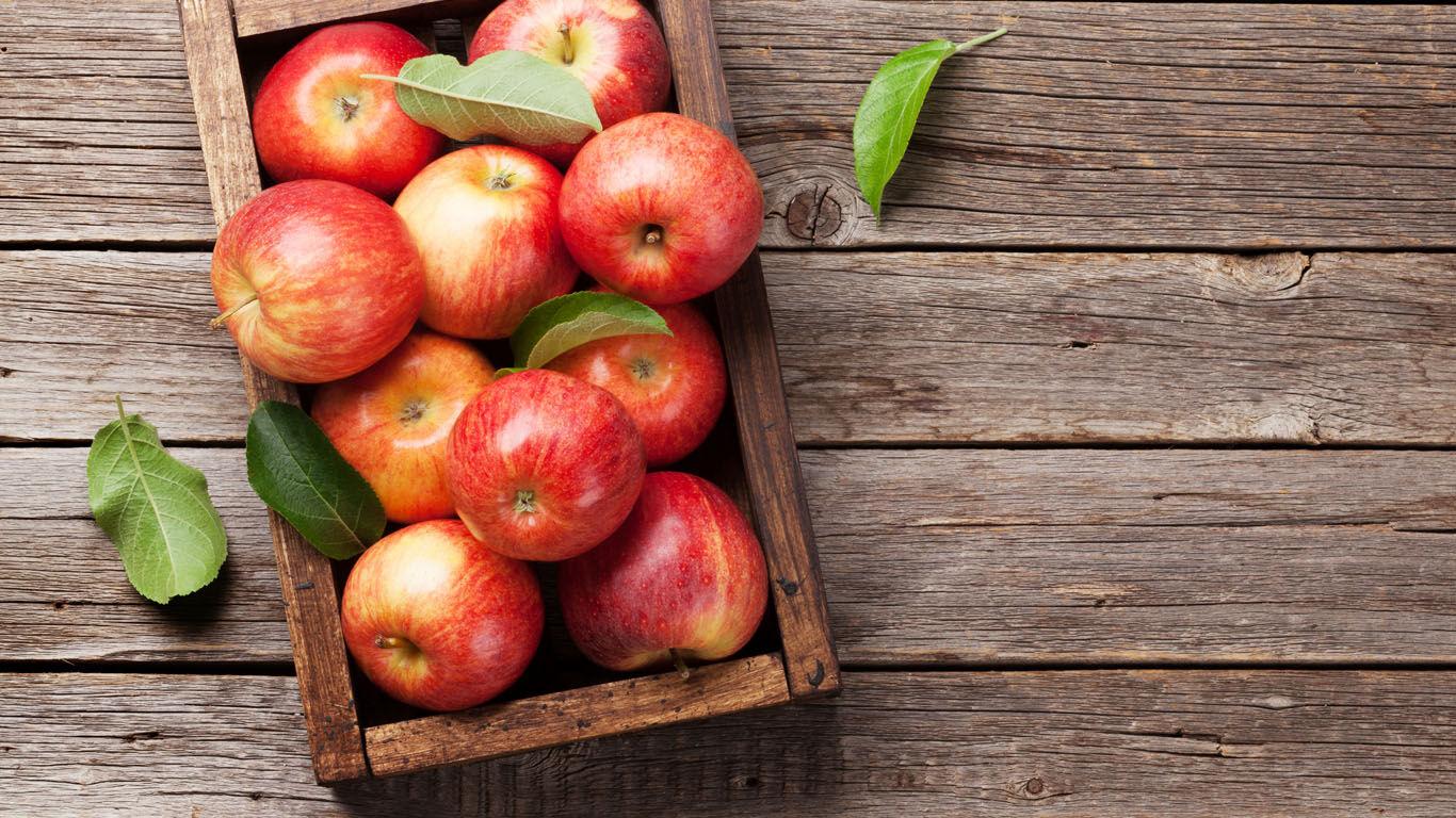Ein Apfel deckt zwei Drittel des Tagesbedarfs an Vitamin C