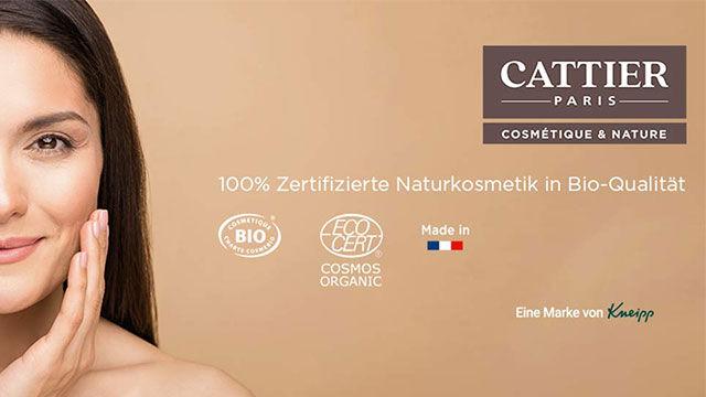 Cattier Paris: Zertifizierte Naturkosmetik in Bio-Qualität