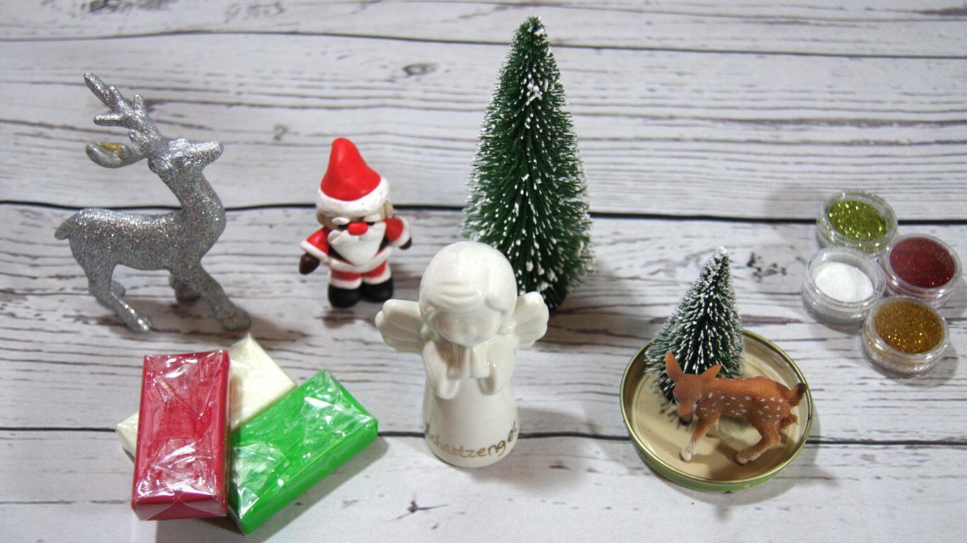 Weihnachten Basteltipp Schneekugel Anleitung 3