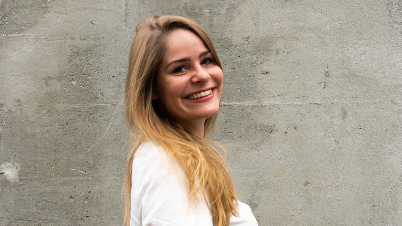 Luisa Ehlgötz arbeitet mit natürlichen Materialien