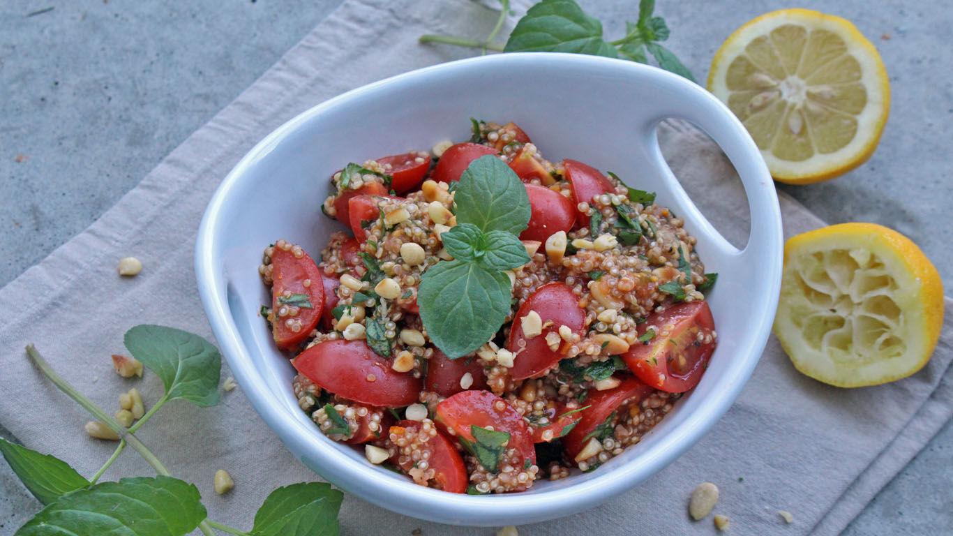 Minz-Petersilie-Salat