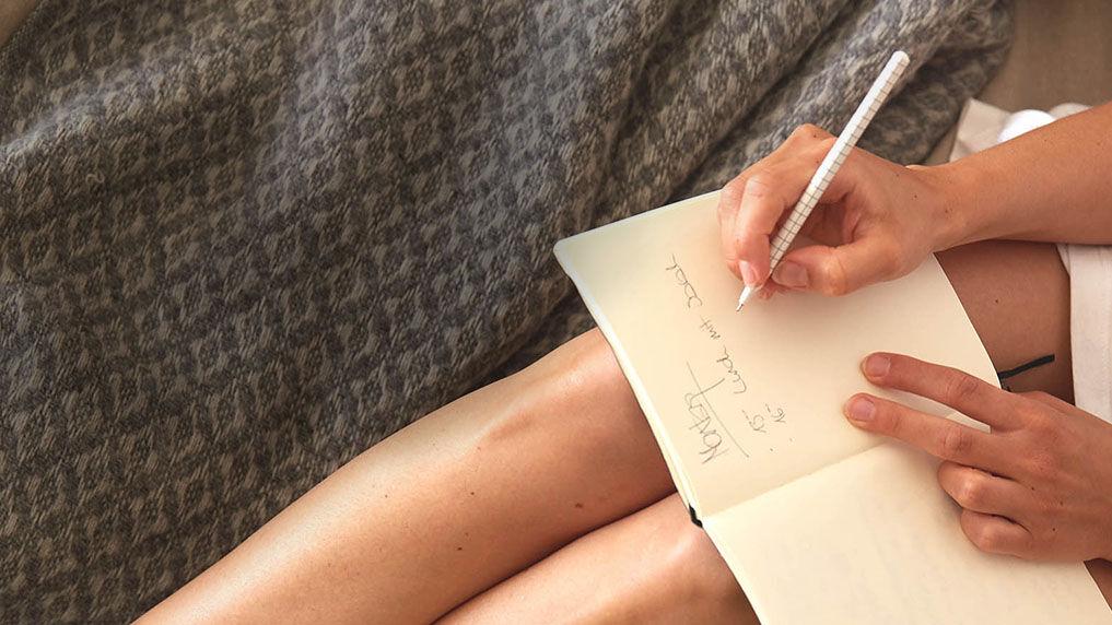 Goodbye Stress durch Schreiben
