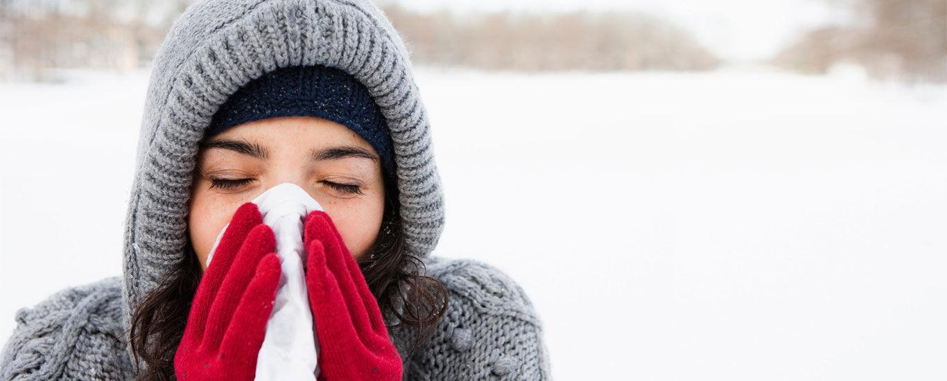 Tipps um einer Erkältung vorzubeugen