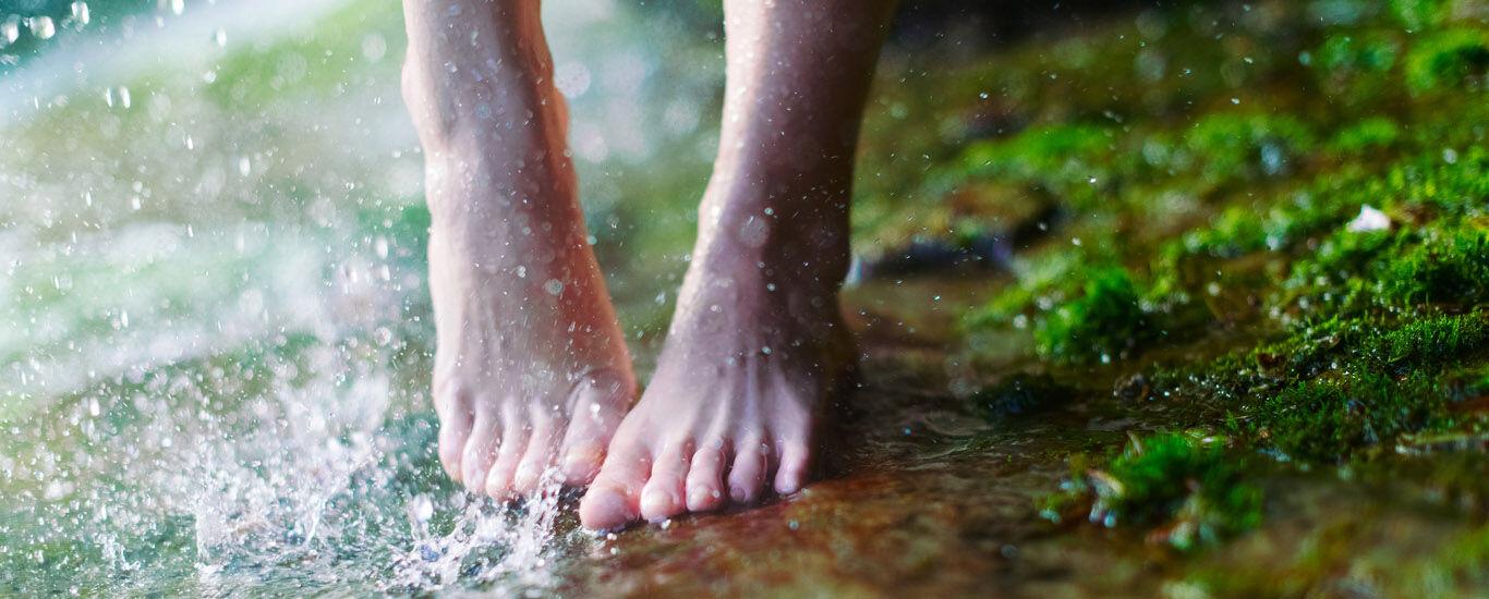 Kneipp Anwendungen Hydrotherapie