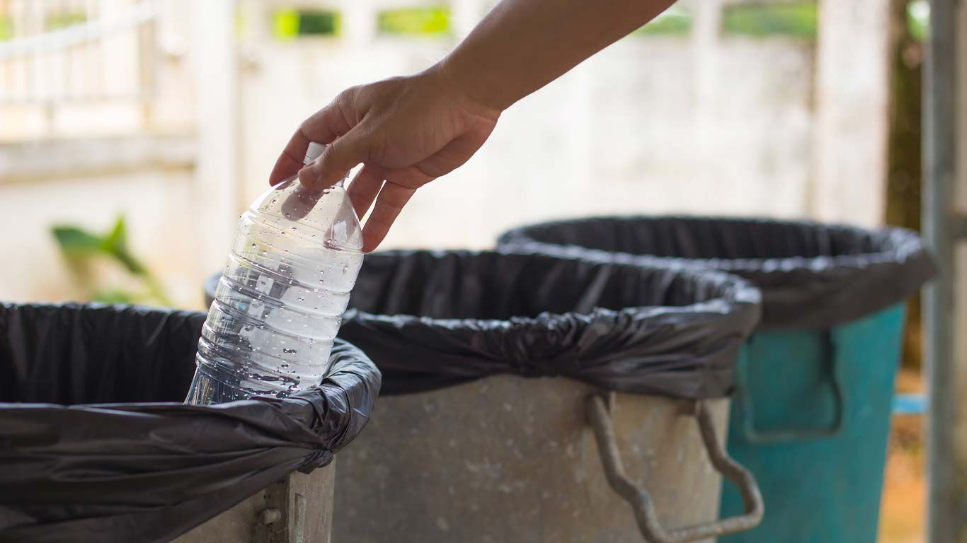 Plastik recyceln