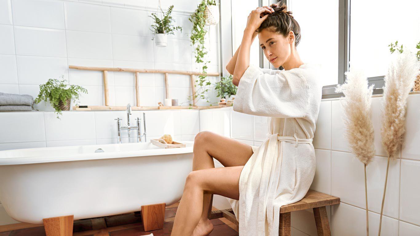 Auch die Raumtemperatur ist für ein entspannendes Bad wichtig