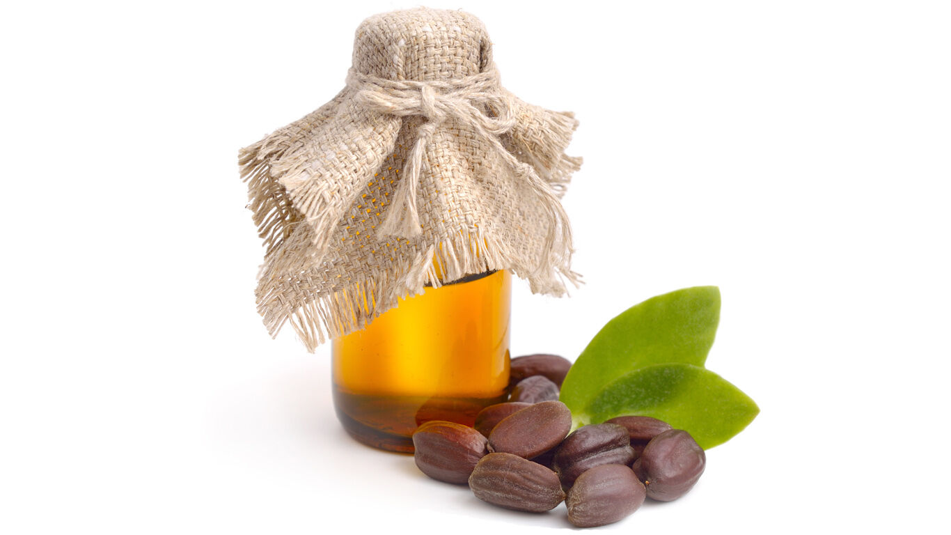 Jojobaöl trägt zu einer glatten Haut bei