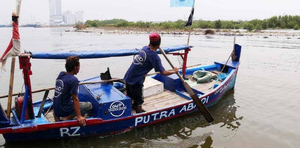 Um Meeresplastik zu sammeln, muss man nicht weit fahren