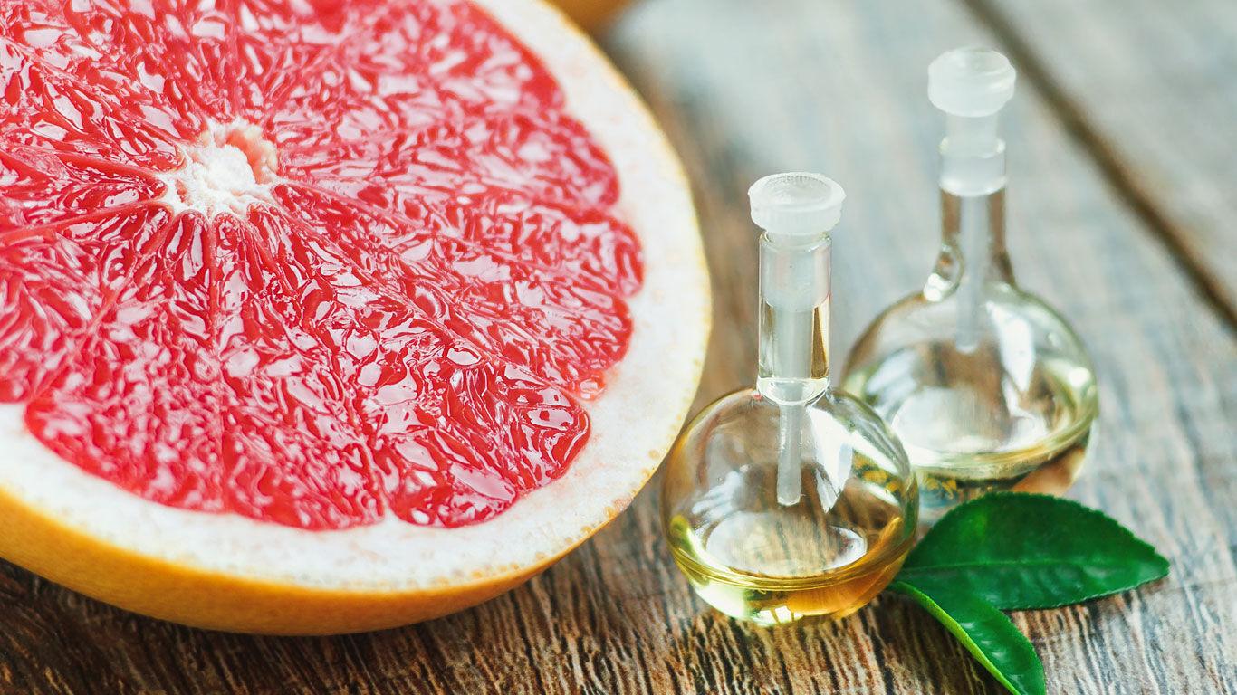 Das ätherische Öl der Grapefruit