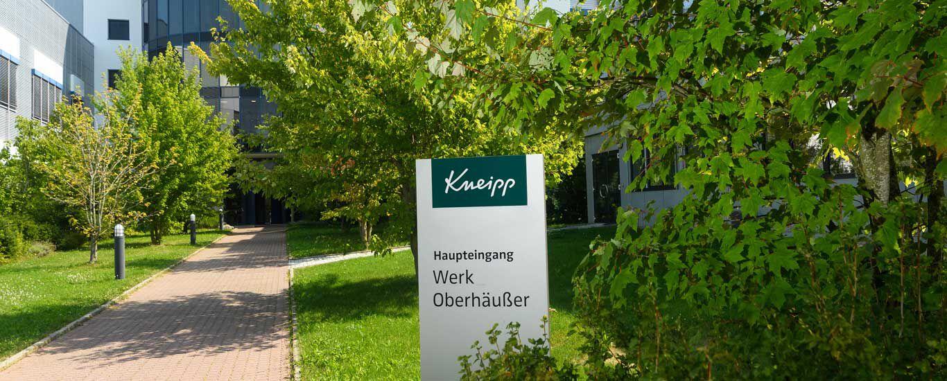 Vordereingang Kneipp Werk in Ochsenfurt