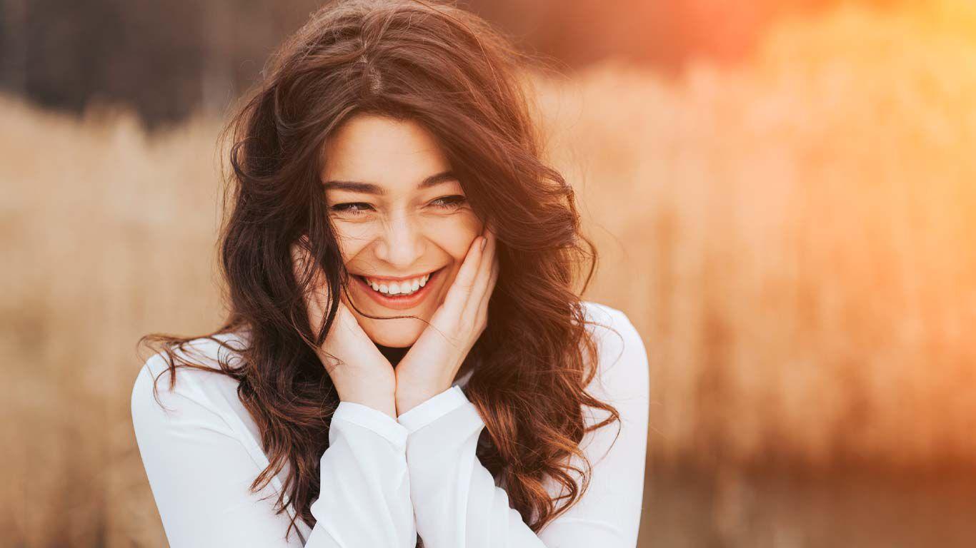 Sich selbst ein Lächeln schenken