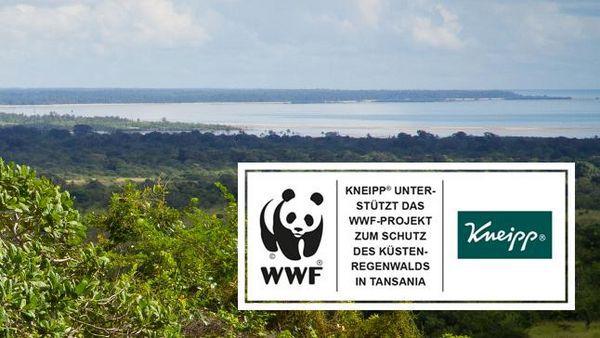 Naturbild mit Auszeichnung des WWF für Kneipp®.