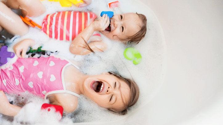 Bade Spiele für Kinder