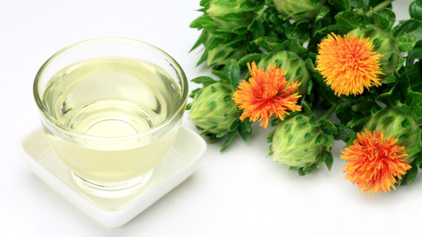 Distelöl bzw. Safloröl zur Hautpflege