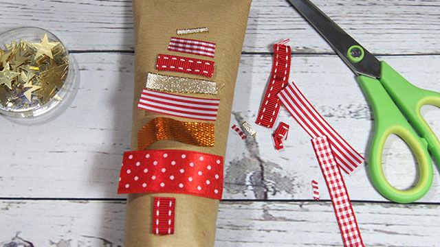 Verpackungsidee für Weihnachten