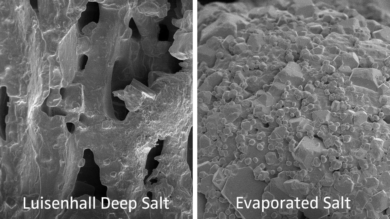 Luisenhaller salt in comparison