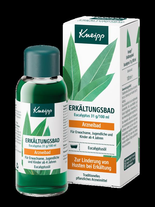Kneipp Erkältungsbad Eucalyptus 31 g / 100 ml