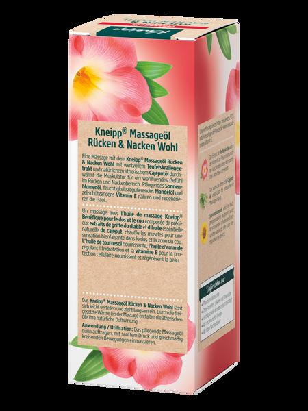 Massageöl Rücken & Nacken Wohl