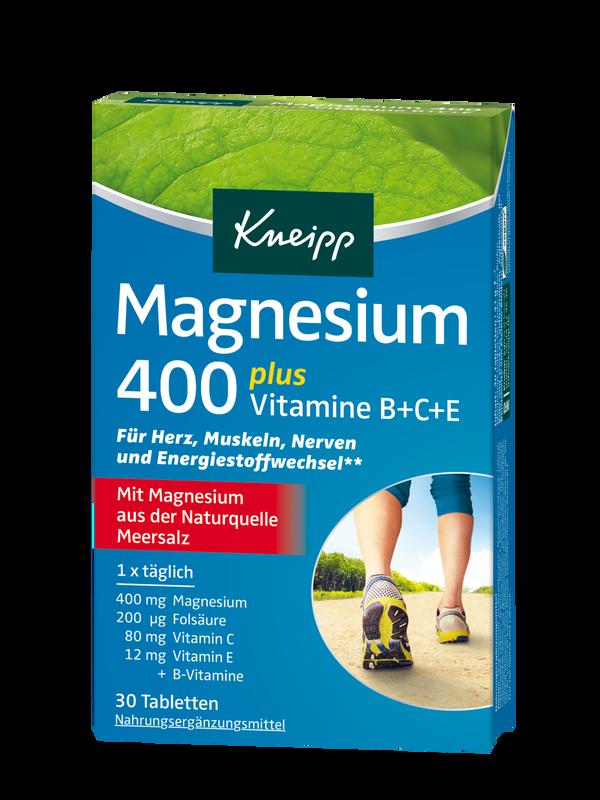 Magnesium 400 plus Vitamine B+C+E