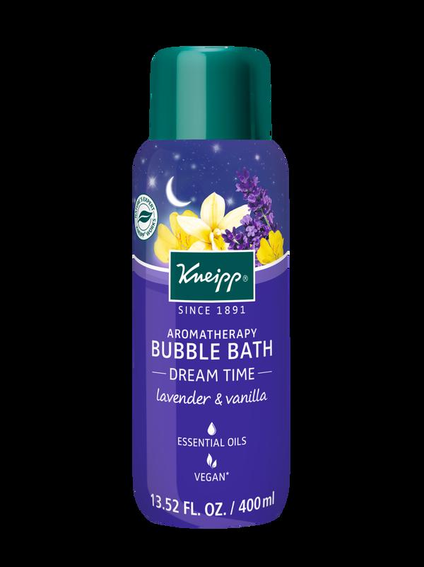 Dream Time Lavender & Vanilla Aromatherapy Bubble Bath