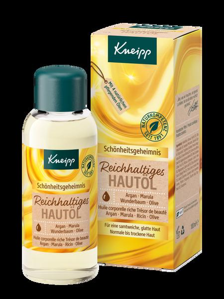 Reichhaltiges Hautöl Schönheitsgeheimnis