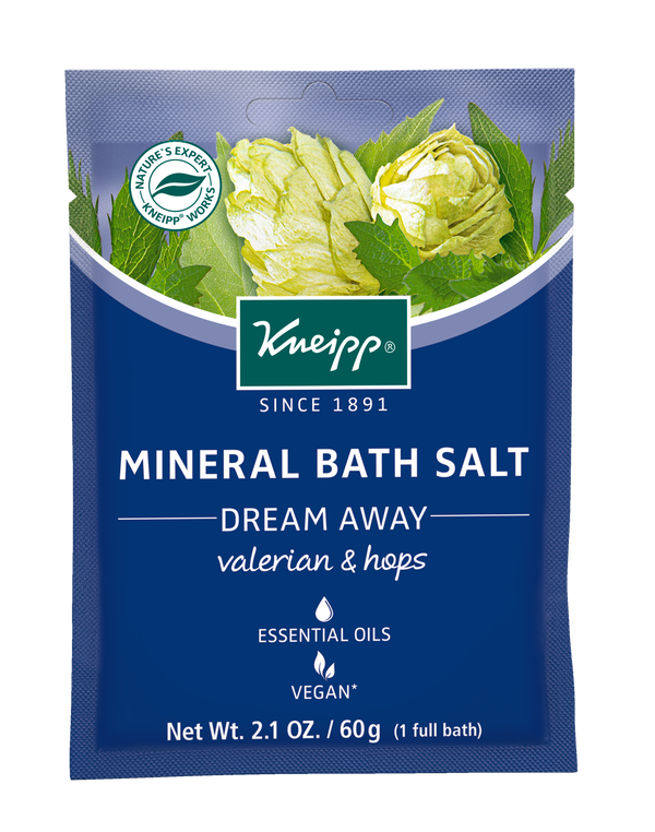 Dream Away Valerian & Hops Mineral Bath Salt Mini