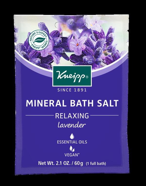 Relaxing Lavender Mineral Bath Salt Mini