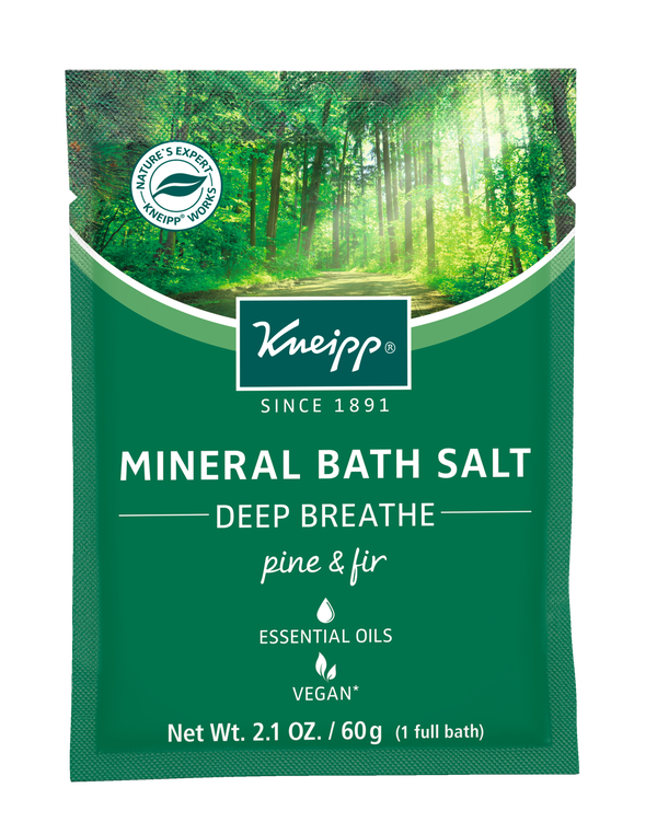 Deep Breathe Pine & Fir Mineral Bath Salt Mini