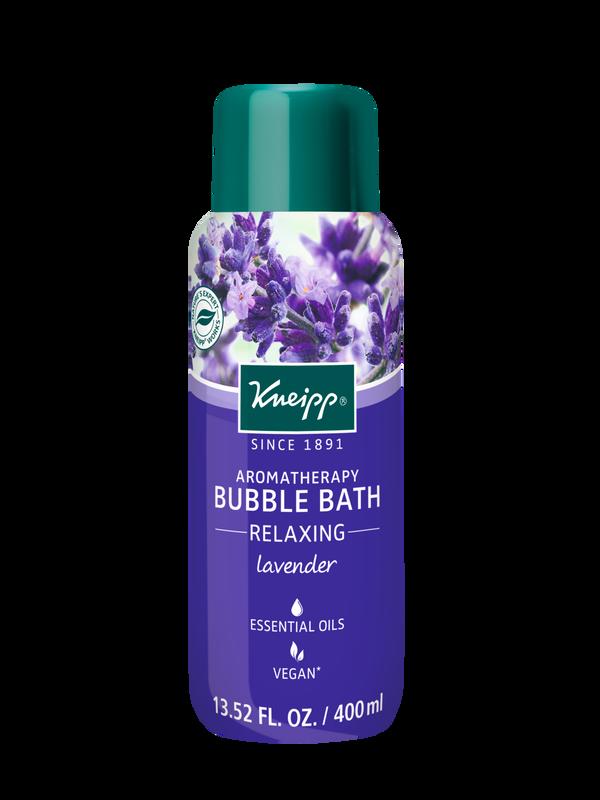 Relaxing Lavender Aromatherapy Bubble Bath