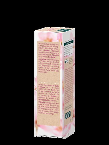 Leichte Gesichtspflege Mandelblüten Hautzart