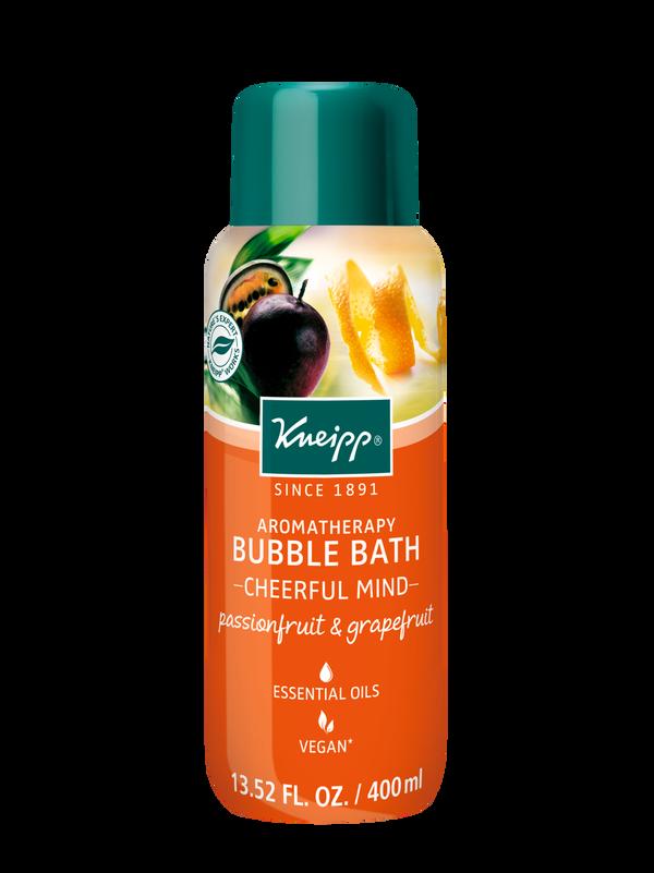 Cheerful Mind Passionfruit & Grapefruit Aromatherapy Bubble Bath
