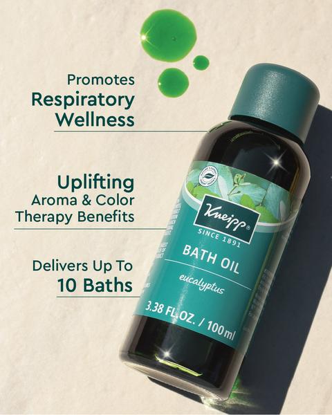 Refreshing Eucalyptus Bath Oil