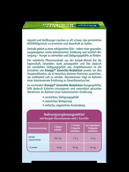 Gewichts-Reduktion