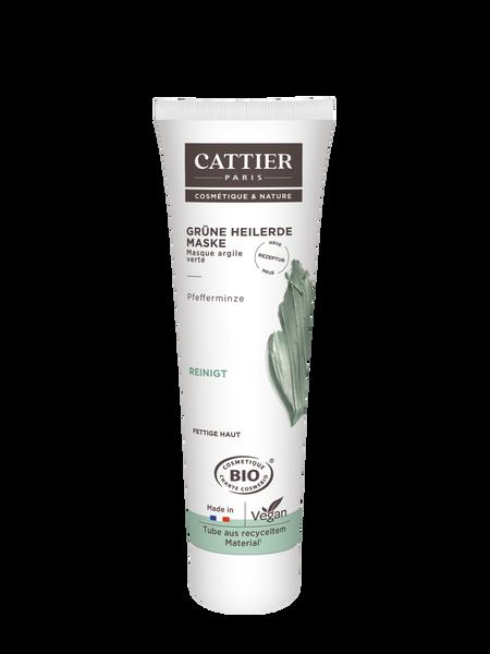 Cattier Grüne Heilerde Maske für fettige Haut