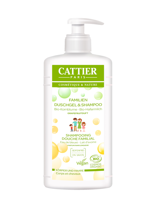 Cattier Familien Duschgel & Shampoo