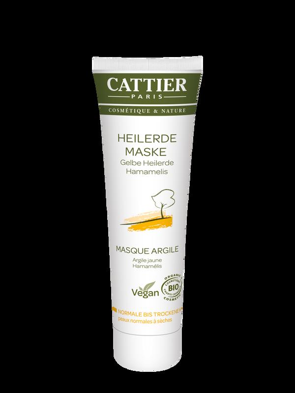 Cattier Gelbe Heilerde Maske für trockene Haut