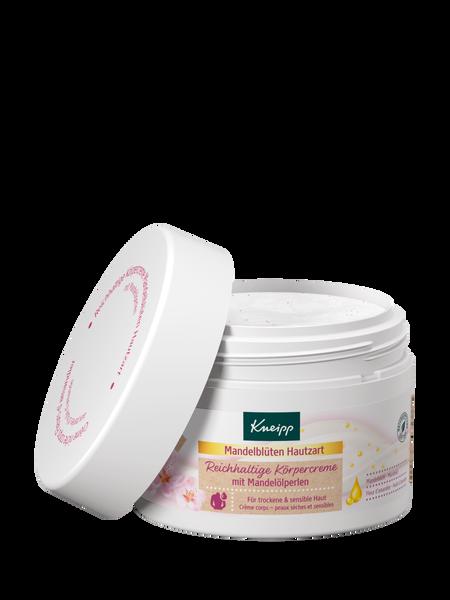 Reichhaltige Körpercreme Mandelblüten Hautzart